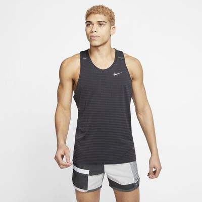 Nike TechKnit Ultra-løbetanktop til mænd