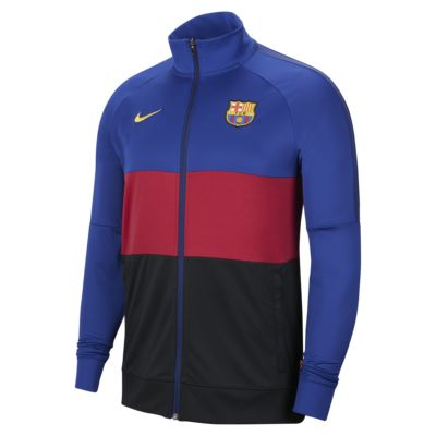F.C. Barcelona Men's Football Track Jacket