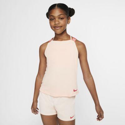 Tréninkové tílko Nike Dri-FIT pro větší děti (dívky)