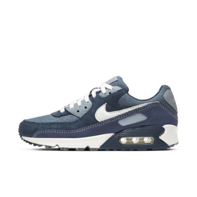 nike air max 90 navy blue grey white