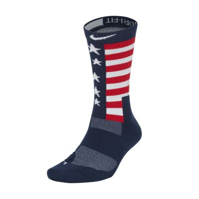 Nike USA Elite Basketball Crew Socks