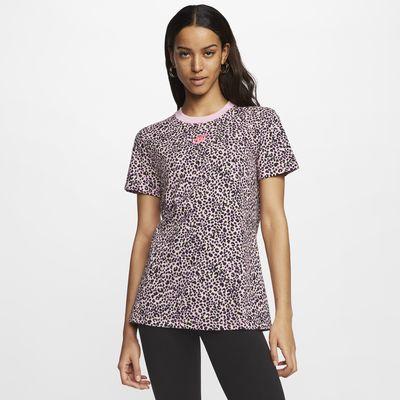 T-shirt Nike Sportswear med djurmönster för kvinnor