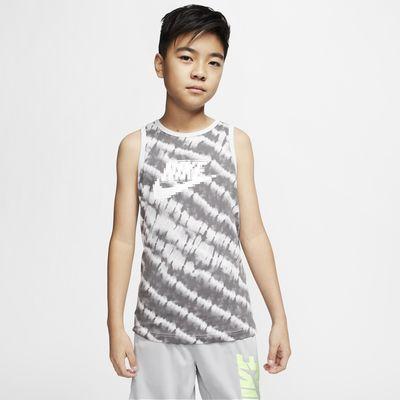 Nike Sportswear Tie-Dye-Tanktop für ältere Kinder (Jungen)