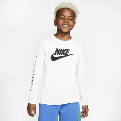Tee shirt à manches longues Nike Sportswear pour Garçon plus âgé
