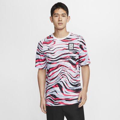 Korea kortærmet fodboldtrøje til mænd
