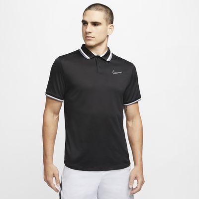 Polo de tennis NikeCourt Slam pour Homme