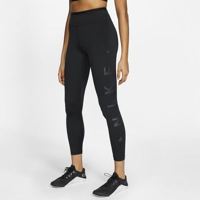 Nike One Icon Clash Women's Graphic Mid-Rise 7/8 Leggings