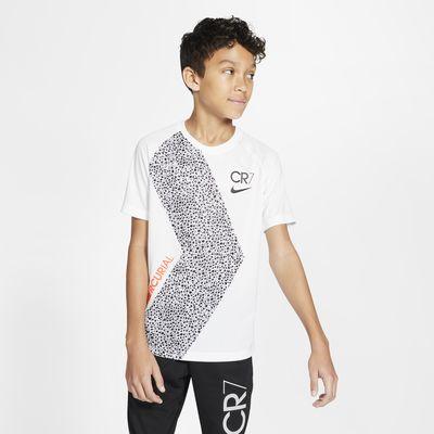 Nike Dri-FIT CR7 大童短袖足球上衣