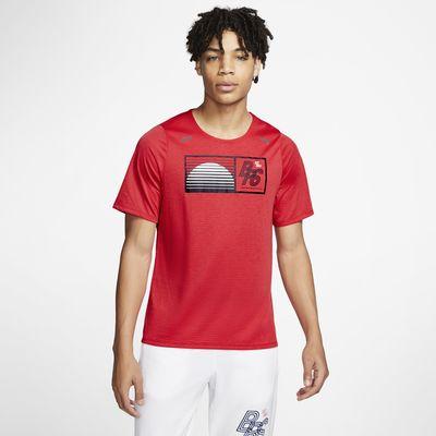 Ανδρική μπλούζα για τρέξιμο Nike Rise 365 Blue Ribbon Sports