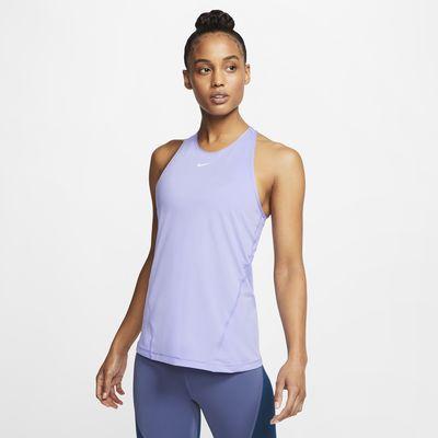 Женская майка из сетчатой ткани Nike Pro