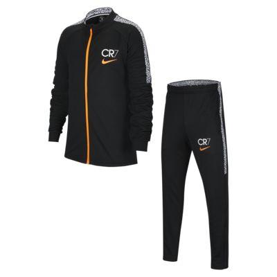Nike Dri-FIT CR7 Older Kids' Knit Football Tracksuit