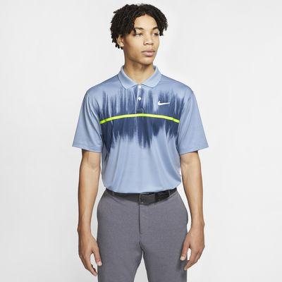 Pánská golfová polokošile Nike Dri-FIT Vapor s potiskem