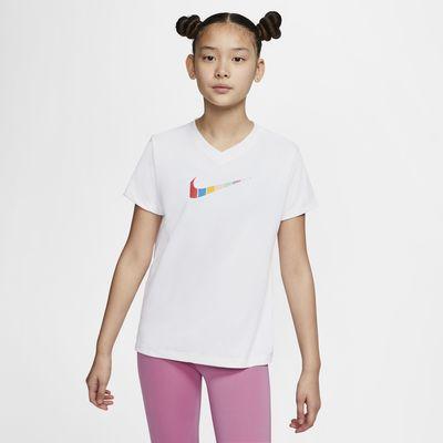 T-shirt Nike Dri-FIT för ungdom (tjejer)