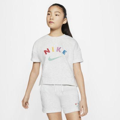 Tröja Nike Sportswear Crew för ungdom (tjejer)