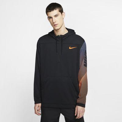 Nike Dri-FIT Men's Fleece 1/2-Zip Training Hoodie