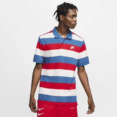 Nike Sportswear Herren-Poloshirt mit Streifen