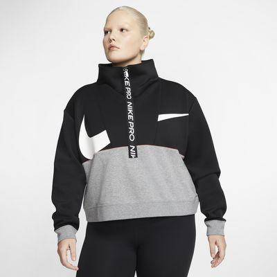 Haut en tissu Fleece Nike Pro Get Fit pour Femme (grande taille)