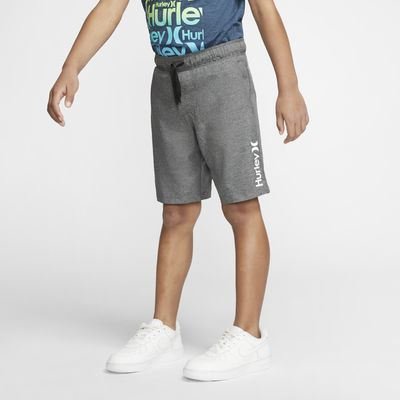 Hurley Heathered Hybrid Boys' Pull-On Walkshorts