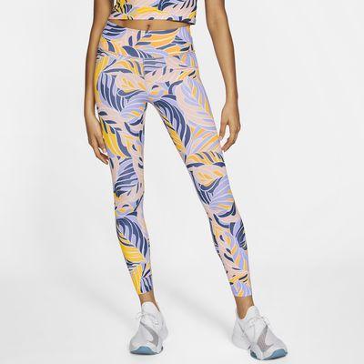 Legging imprimé 7/8 taille mi-basse Nike One pour Femme