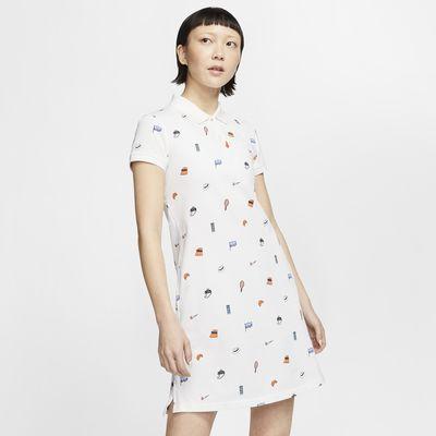 The Nike Polo 女款印花洋裝