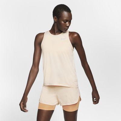 Nike Miler-løbetanktop til kvinder