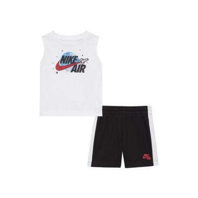 Conjunto de prenda para la parte superior y shorts Nike Air para bebé (12-24M)
