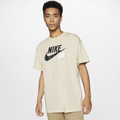 Nike SB Skateshirt met logo voor heren