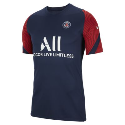 Paris Saint-Germain Strike Men's Short-Sleeve Football Top