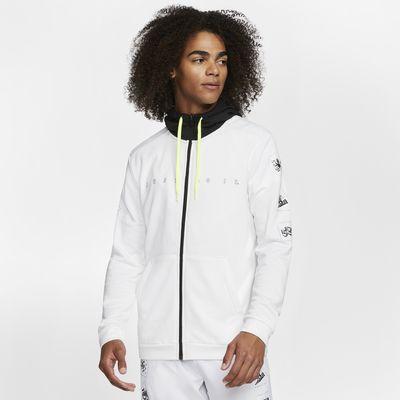 Nike Dri-FIT Men's Fleece Full-Zip Training Hoodie