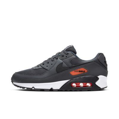 air max 90 orange and black