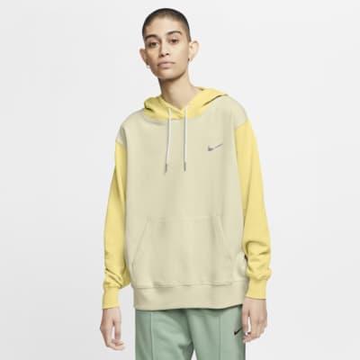 Nike Sportswear-pullover-hættetrøje med Swoosh til kvinder