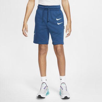 กางเกงขาสั้นผ้า French Terry เด็กโต Nike Sportswear (ชาย)