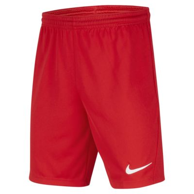 Nike Dri-FIT Park 3 Big Kids' Soccer Shorts