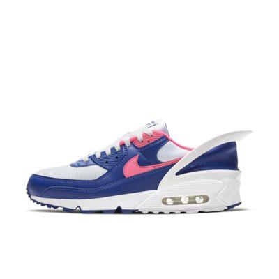 nike air max 90 hyper pink and grey