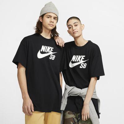 Nike SB-skater-T-shirt med logo