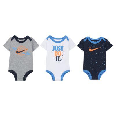 Nike Baby (0-9M) Bodysuit (3-Pack)