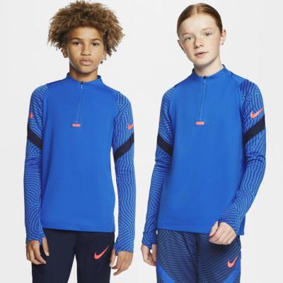 Nike Dri-FIT Strike Older Kids' Football Drill Top
