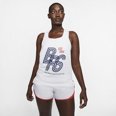 Беговая майка Nike AeroSwift Blue Ribbon Sports