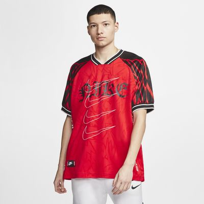 Kortærmet Nike Sportswear-overdel i maskinstrik