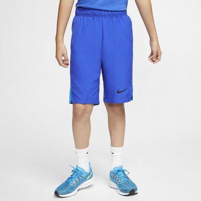 Shorts de tejido Woven de entrenamiento para niño talla grande Nike