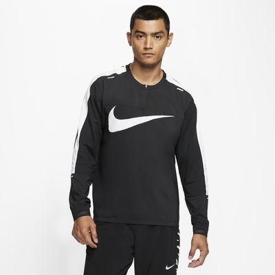Prenda para la parte superior de running con cierre de 1/4 para hombre Nike Element Wild Run