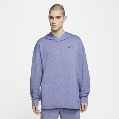 Nike Dri-FIT Dessuadora amb caputxa de màniga llarga d'entrenament de ioga - Home