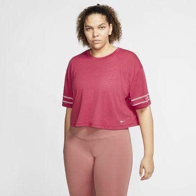 Nike Pro Women's Short-Sleeve Graphic Top (Plus Size)