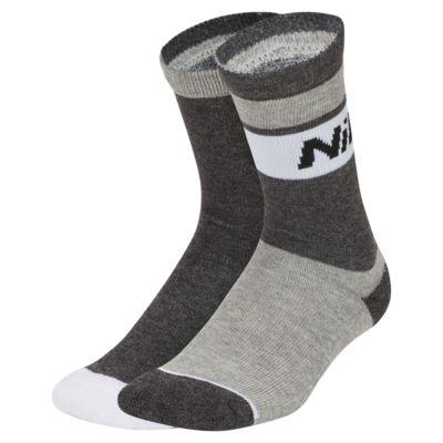 Nike Air Little Kids' Crew Socks (2 Pairs)