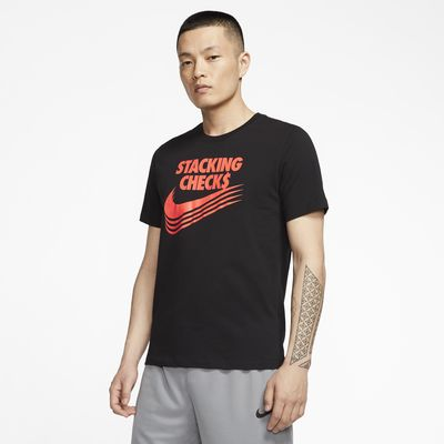 Nike Dri-FIT Stacking Checks 男款籃球 T 恤