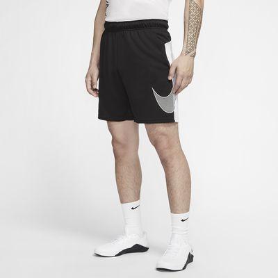กางเกงเทรนนิ่งขาสั้นผู้ชายมีกราฟิก Nike Dri-FIT