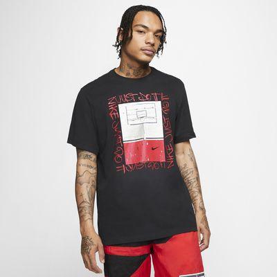Ανδρικό T-Shirt μπάσκετ Nike Dri-FIT Hoop Photo