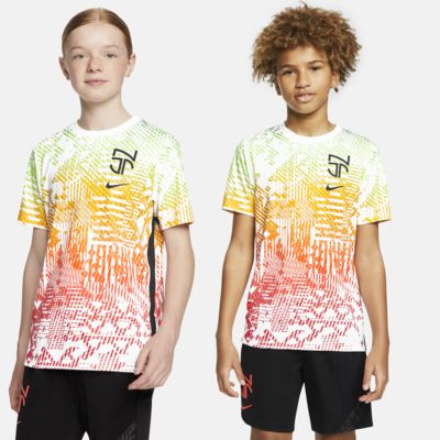 Nike Dri-FIT Neymar Jr. Older Kids' Short-Sleeve Football Top