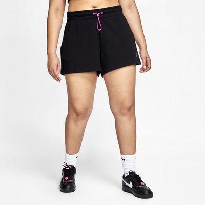 Nike Sportswear Icon Clash Women's French Terry Shorts (Plus Size)