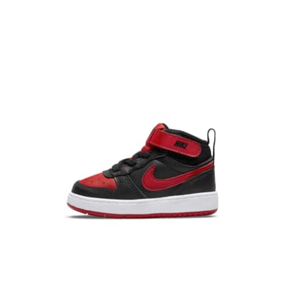 Nike Court Borough Mid 2 Baby and Toddler Shoe